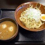 新月 - 味噌つけ麺+鶏肉だんご