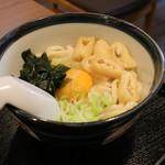 知多屋 - 料理写真:釜玉うどん