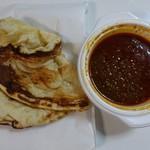 インド定食ターリー屋 - A弁当 カレー1種類+ナン500円