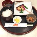 平わ - ぶり西京焼き定食  ¥1000