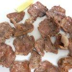 らーめん厨房 萬喜 - 料理写真:タン塩網焼き 700-夜メニュー腰を据えて飲む酒の肴としてのみ※御飯のおかずはご遠慮願います。