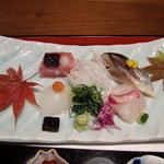 10250686 - 新鮮なお魚。さんまの握りも美味でした。