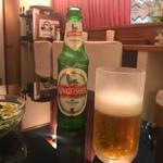 サイラム キャンティーン - インドビール(キングフィッシャー)
