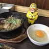 花の山 - 料理写真:牛すき鍋350円(税込)