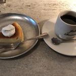 JUHA - ベイクドチーズケーキとマイルドブレンドで870円
