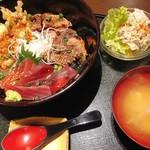 げんぱてい - マグロ三昧丼