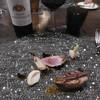 ル・ゴーシュ・セキ - 料理写真:鴨のロティと赤グラス