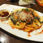 赤い壺 - 海鮮ピリ辛チヂミ(+3)