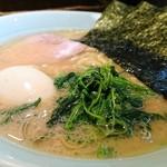 麺家 市政 - らーめん 700円 味玉 100円