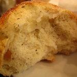 クーズコンセルボ - リンゴと紅茶のパン断面