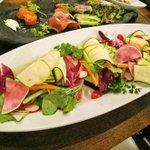 10251707 - 野菜たっぷりなバーニャカウダーとアンチョビオイル