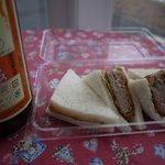 パンの風 - ミンチカツサンド