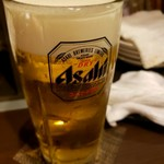 鳥助 - ビール2杯目以降