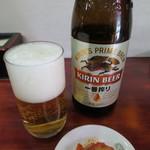 龍鵬 - 瓶ビール(キリン一番搾り)