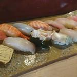 寿司亀 - おまかせ定
