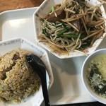 東風 - Eランチ レバニラ炒め