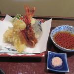 重吉 - 「天ぷら盛り合せ」(小)