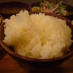 ガテモタブン - 白飯