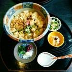 とようけ茶屋 - とようけ丼(700円)