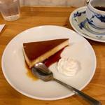 昔ながらの喫茶店 友路有  - プリン