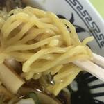 長沼スキー場 食堂 - 麺はこんな感じ