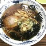長沼スキー場 食堂 - 醤油ラーメン(600円)