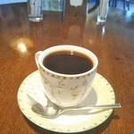 サンテラス - 食後のコーヒー 100円(税込)(2019年2月18日撮影)