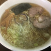 らーめん工房 魚一 - 料理写真:魚醤ラーメン (*´ω`*) あっさり 細麺大