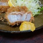 ちがさき - バラカツ軽食2枚900円