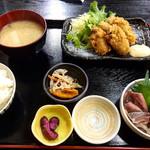 102524721 - 牡蠣フライ定食