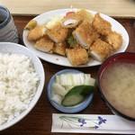 江戸屋 - ♪イカフライ定食¥750