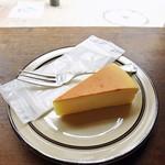 ドリームコーヒー - ベイクドチーズケーキ190円w