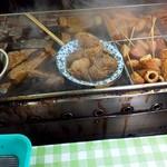 若松屋 - 料理写真:テイクアウト用窓口におでん鍋あり〼
