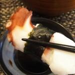 玄海鮨 - タコ  美味しかったです
