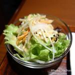 焼肉ホルモン 山水縁 - 定食サラダ