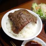 焼肉ホルモン 山水縁 - 白米マリアージュ
