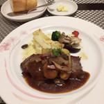ビストロ サカイ - 仔牛のステーキ