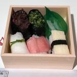 西利 - 京漬物寿司5貫入り540円税込