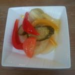 102536326 - 自家製色々野菜のピクルス