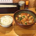 102537141 - 雷々麺と小ライス