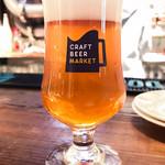 クラフトビアマーケット - ドリンク写真:クラフトビール(税込\480/グラス)
