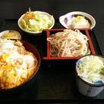 いなばや - カツ丼セット ¥1020