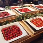 フレンチビストロ ル ドール - 苺の食べ比べ
