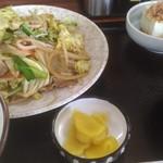 かしを食堂 - 野菜炒め定食