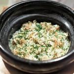 虎白 - 虎河豚の炊き込みご飯