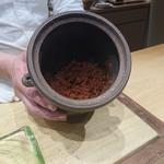 102546340 - 自家製赤柚子胡椒