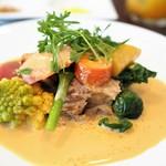 サラマンジェ ド ヨシノ - 料理写真:イタリア産仔牛のブランケット