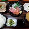 お食事の店萬福 - 料理写真:お刺身定食  梅