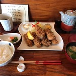 とんかつ 鈴の家 - カキフライ定食