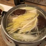102554076 - かきと黄ニラの湯豆ふ(1680円)